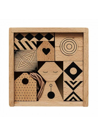 Puzzle madera mobil oyoy