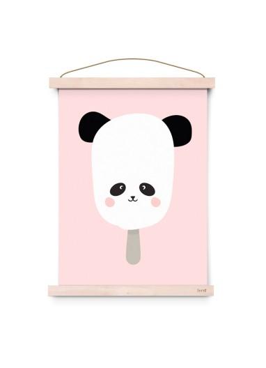 Lámina Panda Pop